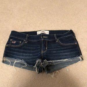 Hollister Shorts - Low rise denim shorts
